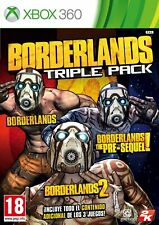 JUEGO XBOX 360 BORDERLANDS TRIPLE PACK X360 5443570