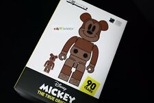 Disney Medicom Undefeated Bearbrick Mickey 400% 100% True Original Exhibit NYC