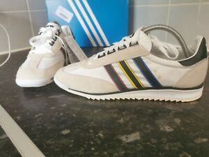 Adidas Originals SL76 Size? Exclusive Trainers, Size 8.5 In White