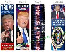 3-DONALD TRUMP BOOKMARK US 45th PRESIDENT United States Make America Great Again