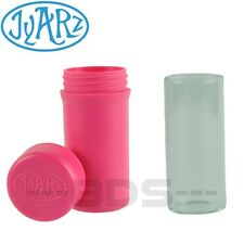 Pink Jyarz Storage Container Glass Eco Friendly BPA Free USA Made Herb Jar