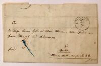 Vorphila Brief Gorzyn nach Berlin 21.3.1855