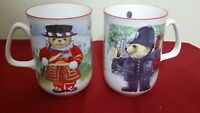 2  Vintage P.S. CUPS FINE BONE CHINA MADE IN ENGLAND 4""