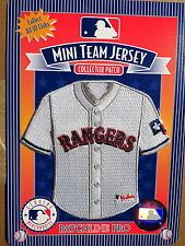 MLB Texas Rangers Home Mini-Jersey 4 Inch Patch From 2006