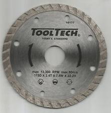 Universal Fliesen-Trennscheibe Ø 115 x 2,4 x 22,23 mm mit Turborand Neu