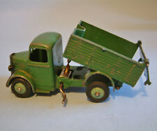 DINKY Meccano England original 1948 BEDFORD END TIPPER 25m light green hubs