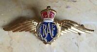 ORIGINAL - WW2 RAF (ROYAL AIR FORCE) WAR RELIEF WINGS by MONET c1940.