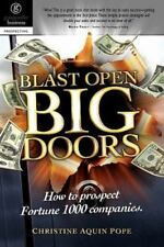 Blast Open Big Doors : How to Prospect Fortune 1000 Companies by Christine...