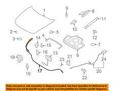 Infiniti NISSAN OEM 08-13 G37 Hood-Latch Lock Release Cable 65620JL01A