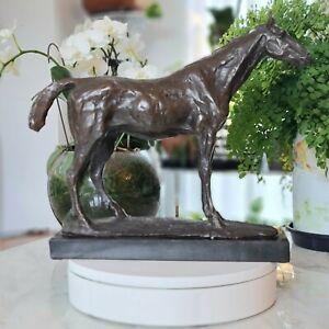 Statue Bronze Sculpture Of  Horse