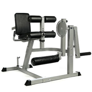 PRO HEAVY DUTY SEATED OLYMPIC LEG CURL & EXTENSION MACHINE QUADS HAMSTRING PRESS
