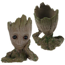 Baby Groot Figure Guardians of Galaxy PVC Vaso di fiori stile penna Regalo 16CM