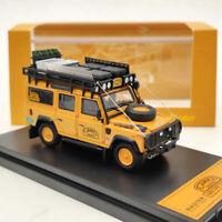Master Land Rover Defender 110 Diecast Models Toys Car Collection Orange 1:64