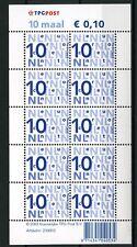 Nederland Nikkels Va2135c, 10 x 10 cent L-fosfor TPG-logo cat waarde € 6