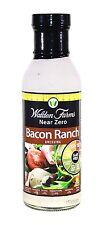 Walden Farms Sugar Free Bacon Ranch Dressing - 12 fl oz (355 ml)