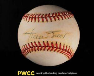 Willie Mays Signed Autographed Baseball Sweet Spot AUTO, JSA Auth, LOA