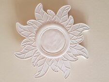 1 Ornate decorative flower style plaster wall ceiling rose plaque diy new