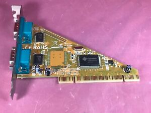 Sunix SER4037A 2 Serial Port PCI Interface Card 16C650 (32FIFOs)