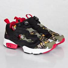 Reebok Insta Pump Fury OG SOLEBOX Men's Shoes Size US 3 UK 2 EUR 33 Camo V61328