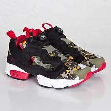 Reebok Insta Pump Fury OG SOLEBOX Men's Shoes Size US 3 UK 2 EUR 33 Camo V61328
