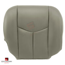 2006 2007 Chevy Silverado PASSENGER Seat Bottom Replacement Cover Gray Vinyl