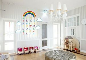 Multicolour Islamic Kids Arabic Alphabet with Phonetic Wall Sticker,RainbowCloud