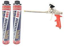 3er Set 1k PUR- Pistolenschaum NBS Made in Germany Bauschaum