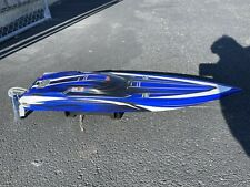 Traxxas Spartan Brushless Rc Race Boat - Blue