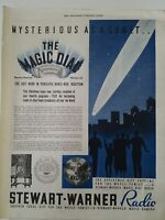 1932 Stewart Warner superb console portable  table cabinet radios magic dial ad