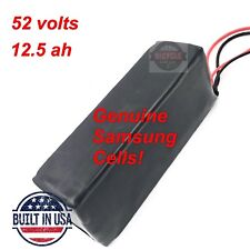 52V *12.5Ah* Samsung 25R 18650 lithium battery pack for electric bicycle, EBIKE