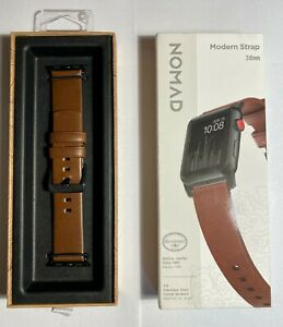 NOMAD MODERN RUSTIC BROWN HORWEEN STRAP 38MM 40MM | CLEARANCE FAST SHIP FROM FL!