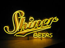 "New Shiner Beers Texas Lamp Neon Light Sign 19""x15"""