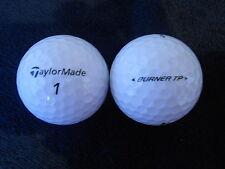 """40 TAYLOR MADE  """"BURNER TP"""" - Golf Balls - """"PEARL/A"""" Grades."""