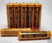 12 Pcs Panasonic Aaa Rechargeable Batteries for Cordless Phones 700mAh NiMh 1.2v