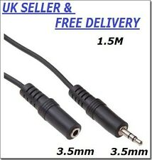 Audio Extension 3.5 mm female to 3.5mm Male Stereo jack