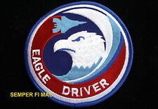 F-15 EAGLE DRIVER PATCH US AIR FORCE USAF AFB PILOT AIR CREW WING FIGHTER WOW