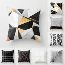 45cm Square Geometic Throw Pillow Case Cushion Cover Home Sofa Decor Pillowcase