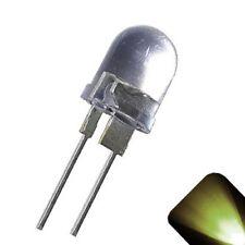 50 x LED 10mm Warm Soft White .5 Watt Bright High Power LEDs 0.5w half 1/2 Car