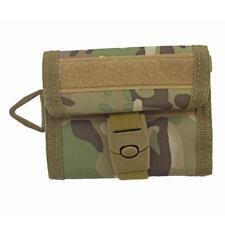 Men Outdoor Tactical Sport Wallet Purse Mesh Pocket Hook Loop and Buckle Cloure