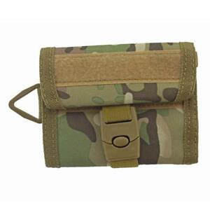 Outdoor Sport Wallet Purse Mesh Tactical Military Pocket Hook&Loop with Buckle