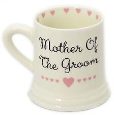 Coffret céramique Coeur Mariage Faveur Cadeau Mug ~ mère du marié