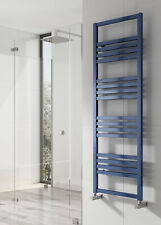 NEW DESIGN Reina bolca aluminium radiator satin blue finish 1200x 485 mm square
