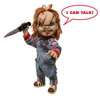 "Talking Chucky 38cm Mega Scale Doll Horror Puppe Childs Play 15"" Figur Mezco"