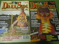 Darkside magazine x2 issue 115 and 116 horror monsters gore cult hammer films