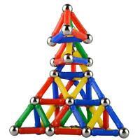 107 Teile Blocks Magnetic Building Spielzeug Magnetische Kinder Blöcke Baus O3S8