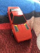 1984 Bandai Gobots Puzzler TIC TAC Red Corvette Figure Bandai transformer