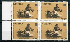 2019 Nigeria - Gandhi - 150th Birth Anniversary - NHM Block of 4