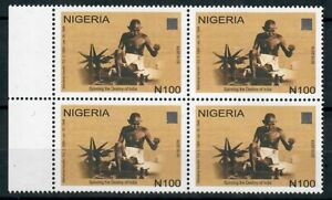 2019 Nigeria - Gandhi - 150th Birth Anniversary - NHM Block of 4