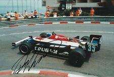 Derek Warwick Candy Toleman Hand Signed 12x8 Photo F1 3.