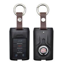 Aluminium Alloy 5 button Key Black Case for 2007-2014 Cadillac Escalade SRX CTS